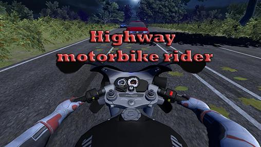 Highway motorbike rider capture d'écran 1