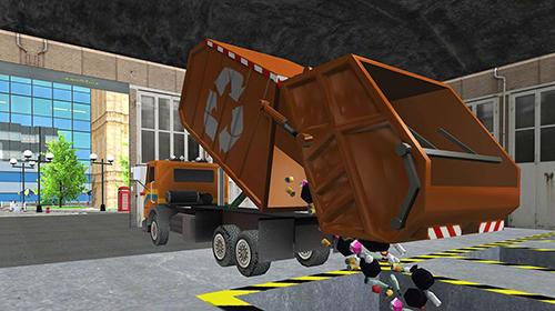 Garbage truck simulator pro 2017 für Android