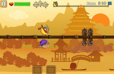 Screenshot Ninja Chicken 3: The Runner on iPhone