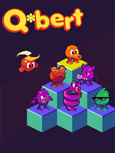 Screenshot Qbert auf dem iPhone