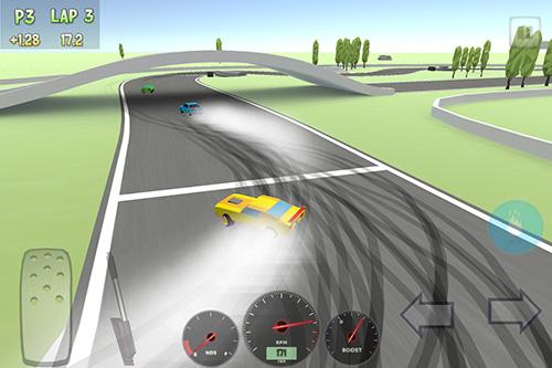 Rennspiele Full drift racing für das Smartphone