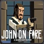 John on fire: A man's cat taken Symbol