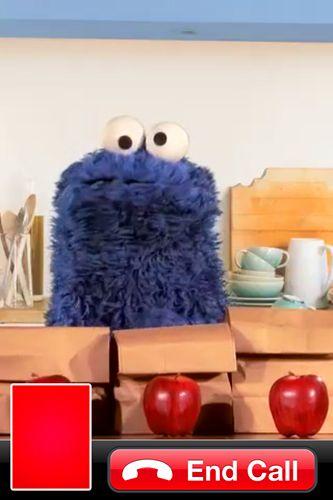 Screenshot Cookie Calls auf dem iPhone