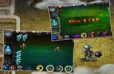 Strategy games: download Kill Devils - kill monsters to resist invasion & unite races! to your phone