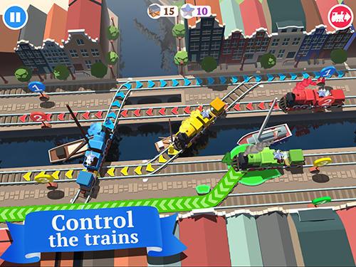Zugspiele Train conductor world auf Deutsch