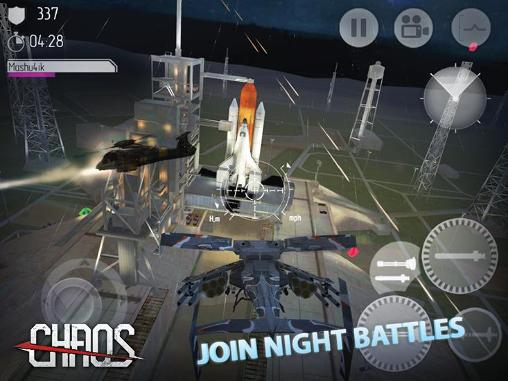Shooter games Chaos: Combat copterst in English