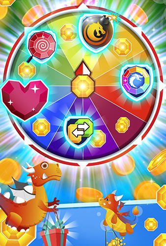 Jewels legend: Island of puzzle. Jewels star gems match 3 für Android