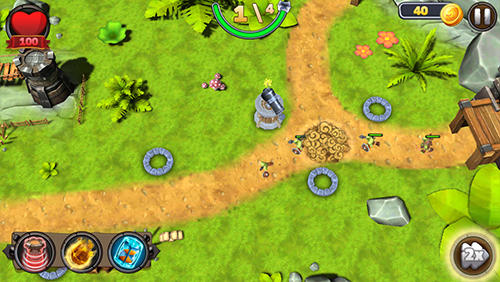 Tower defense: Defender of the kingdom TD für Android