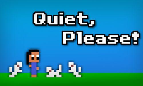 logo Quiet, please!