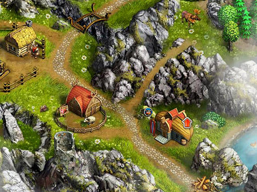 Viking saga 1: The cursed ring für Android