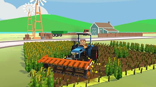 Blocky farm: Corn professional für Android