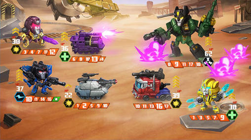 Transformers: Battle tactics für Android