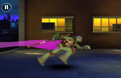 Les Tortues Ninja pour iPhone gratuitement