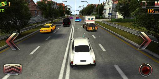 Car driving: High speed racing in English