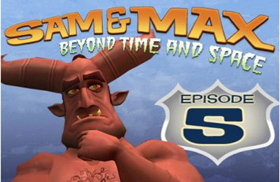 logo Sam & Max Beyond Time and Space Episode 5.  What's New Beelzebub?