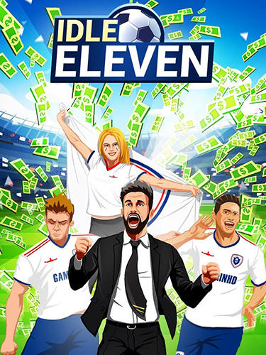 Idle eleven: Be a millionaire football tycoon captura de pantalla 1