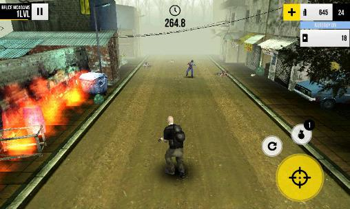 Last run: Dead zombie shooter Screenshot