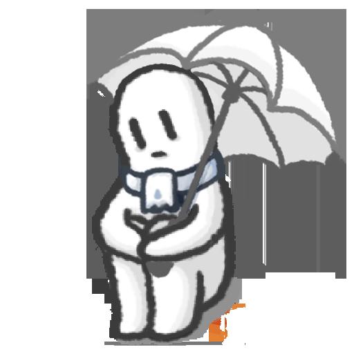 Rainy attic room Symbol