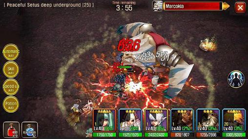 RPG-Spiele Venator: Dragon's labyrinth für das Smartphone