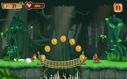 Banana island: Jungle run für Android