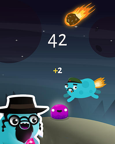 Dude on fire for Android