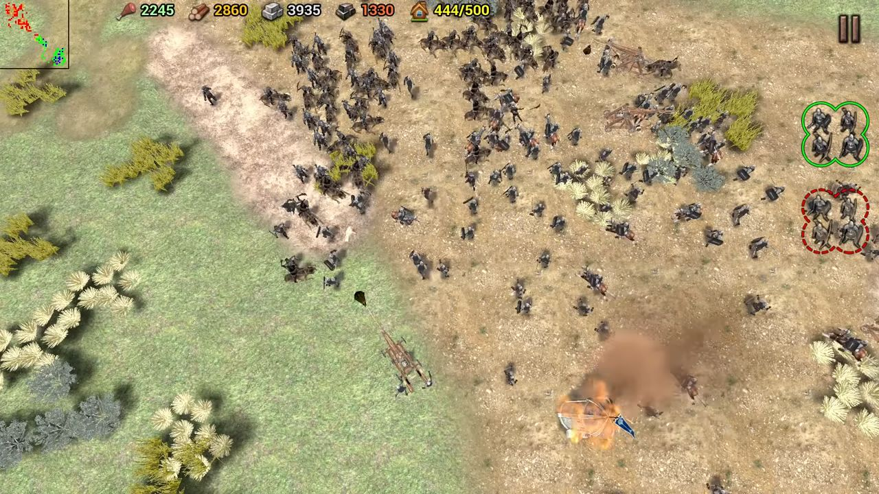 Shadow of the Empire: RTS скриншот 1