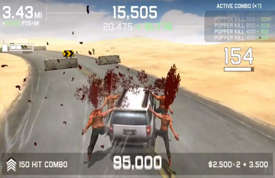 Screenshot Zombie Autobahn: Fahrschule auf dem iPhone