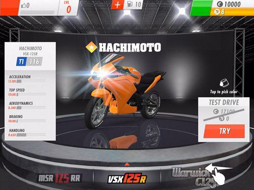 Rennspiele: Lade Rennlinie CC: Rasante Motorradrennen auf dein Handy herunter