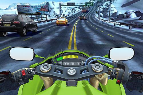 Moto rider go: Highway traffic screenshot 2