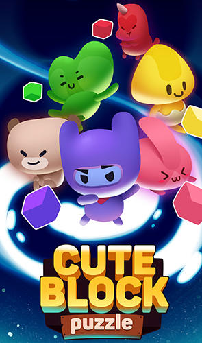 Cute block puzzle buddies Screenshot