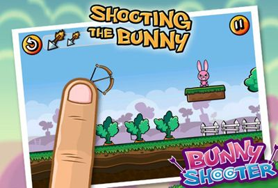 Arcade games: download Bunny Shooter to your phone