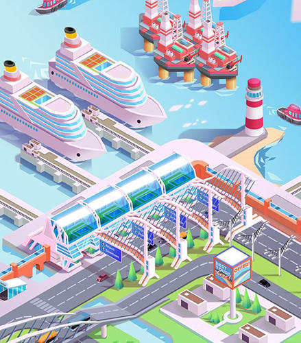 Idle mega harbor tycoon: Incremental clicker game para Android