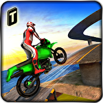 Extreme bike stunts 3D Symbol