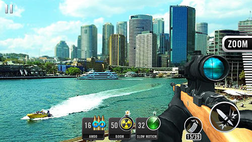 Sniper shot 3D: Call of snipers para Android