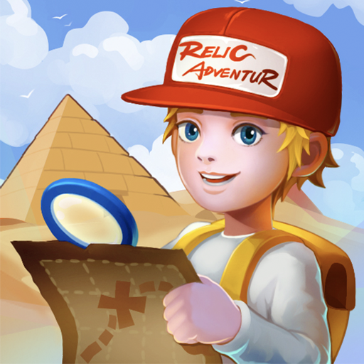 Relic Adventure - Rescue Cut Rope Puzzle Game icône