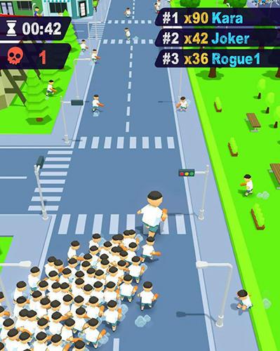 Arcade Crowd brawl for smartphone