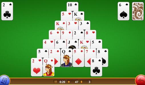 Logikspiele Classic pyramid solitaire für das Smartphone