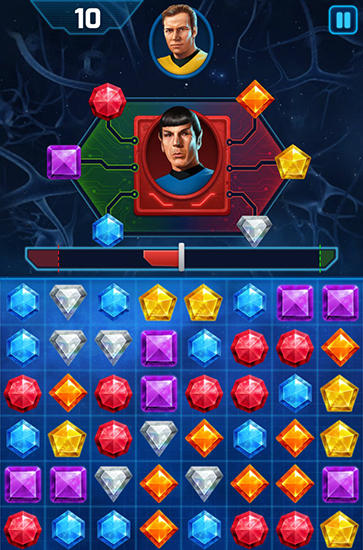 Star trek: Wrath of gems auf Deutsch