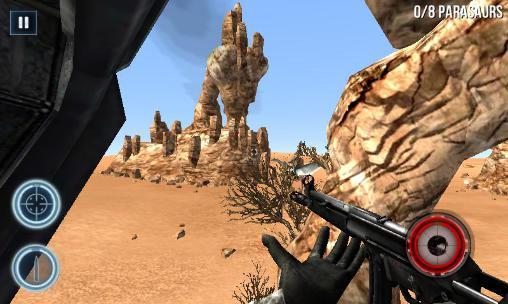 Spiele über Dinosaurier Dino gunship: Airborne hunter auf Deutsch