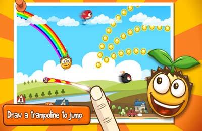 Arcade-Spiele: Lade hüpfender Samen auf dein Handy herunter