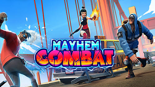 Mayhem combat: Fighting game captura de pantalla 1