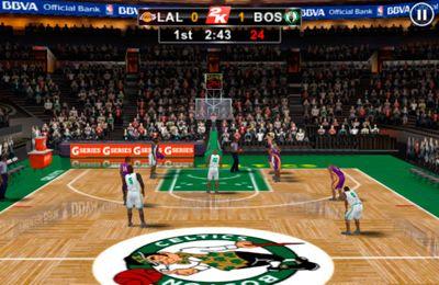 シミュレーション: 電話に NBA 2K12  全米バスケットボール協会をダウンロード