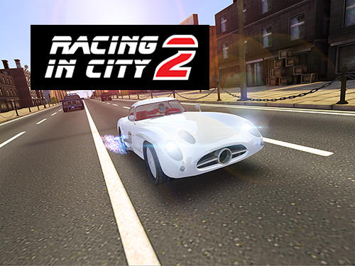 Racing in city 2 captura de pantalla 1