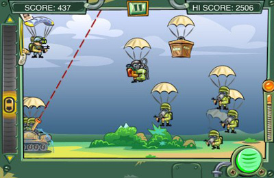 Arcade games: download Brave tanker to your phone