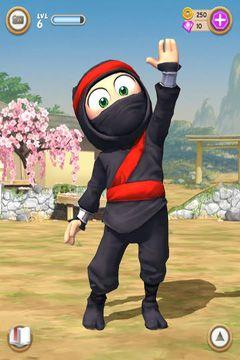 Аркады игры: скачать Clumsy Ninja на телефон
