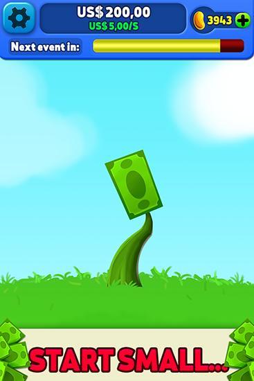 Arcade Money tree: Clicker game für das Smartphone