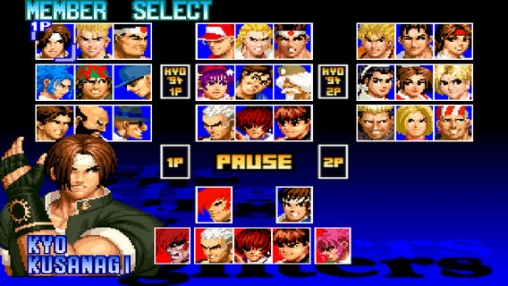 The King of Fighters 97 in Russian