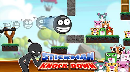 Stickman: Knockdown. Slingshot king Screenshot