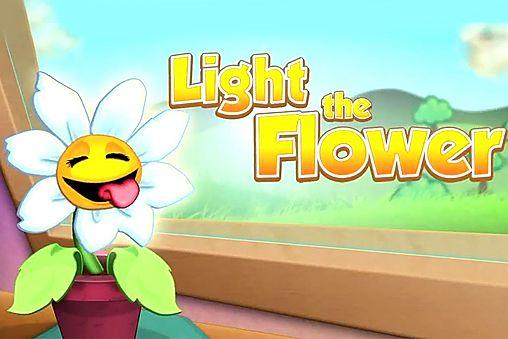 логотип Освети цветок