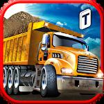 Construction: Trucker 3D sim icon